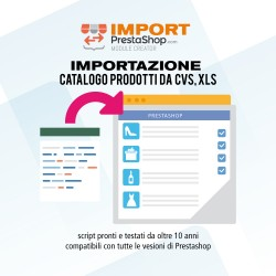 Import into PrestaShop csv...